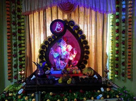 ganpati decoration ideas  home   beautiful