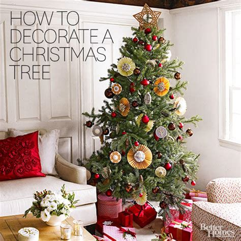 putting your holiday decorations up early could make you happier how to decorate a tree in 3 easy steps better homes gardens