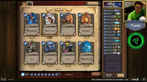 mage basic deck s basic cards only mage and priest deck as seen on