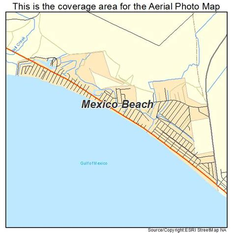 map of mexico florida aerial photography map of mexico fl florida