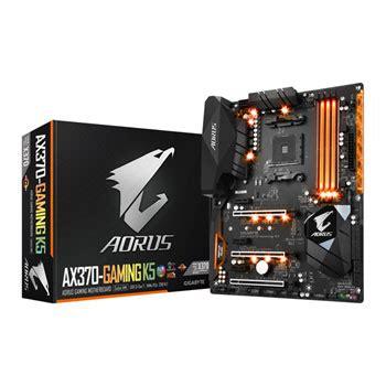 Gigabyte Ga Ax370 Gaming K5 Am4 Amd Promontory X370 Ddr4 Usb3 1 gigabyte aorus amd ryzen am4 ax370 gaming k5 atx motherboard ln79157 ax370 gaming k5 scan uk
