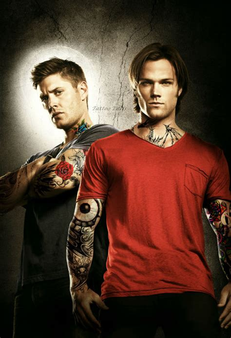 jared padalecki tattoo edits ackles and jared padalecki as requested