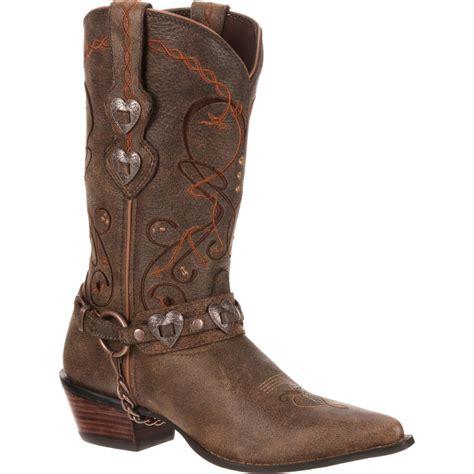 s durango boots crush by durango s brown heartbreaker boot w metal