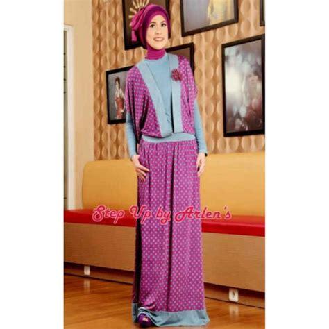 Manset Spandex Hitam Terlaris su stella ungu baju muslim gamis modern