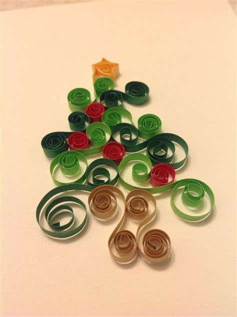my quilled christmas tree quilling designs pinterest
