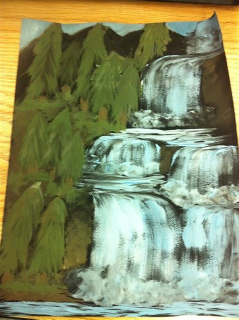 acrylic painting waterfalls 26 best images about waterfalls on the