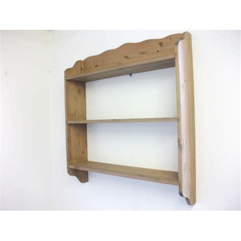 Pine Wall Shelf by Pine Wall Shelves W77cm