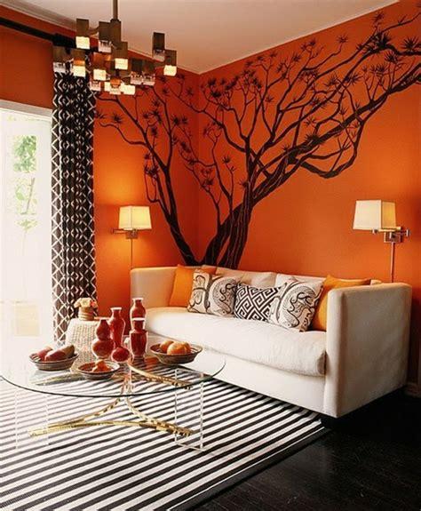 kleines wohnzimmer vorschl 228 ge 100 interieur ideen mit grellen wandfarben archzine net