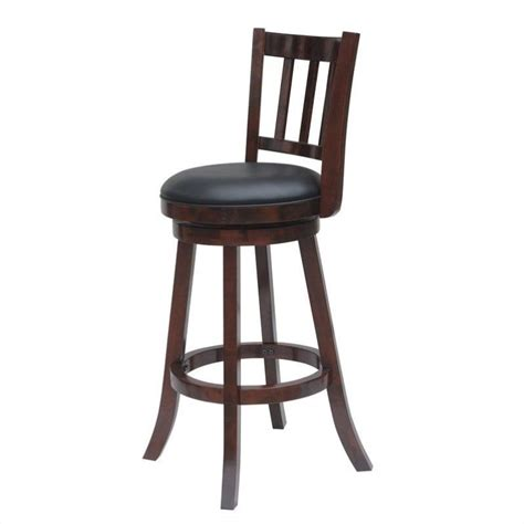Cherry Stools by Bloomington 24 Quot Swivel Counter Stool In Cherry Finish