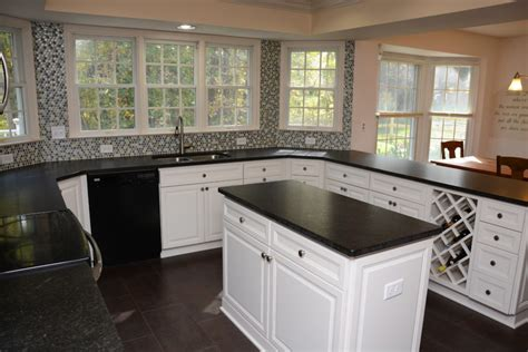 Revelle Countertops by White Cabinets Columbia Md