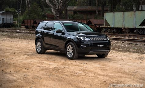 land rover back land rover discovery sport td4 se black