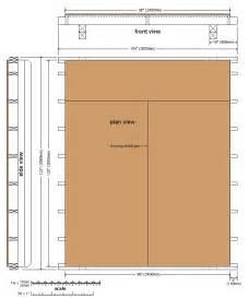 Floor Plans For Sheds How To Build A 10x10 Storage Shed Page 14