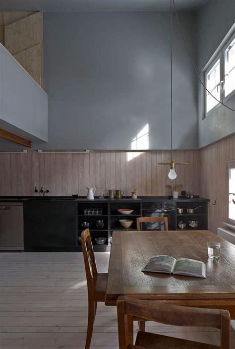 lambris plafond cuisine le lambris mural d 233 coratif en 40 photos