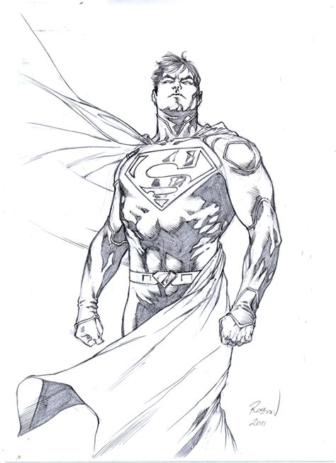 F Robson Sketches by Superman By Robsonrocha On Deviantart