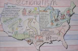 mr gray history student work sectionalism posters