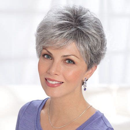 short salt and pepper hair image result for salt and pepper hair women hairstyles