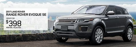 Range Rover Hawaii by Exceptional Offers On New Land Rovers Land Rover