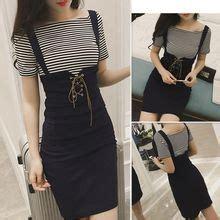 Set T Shirt Jumper Striped Dress dresses for yesstyle
