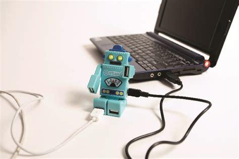 Usb Hub Robot Adapter Adapter Robot Usb Hub 4 Port Hub Prsn robot usb hub gift search