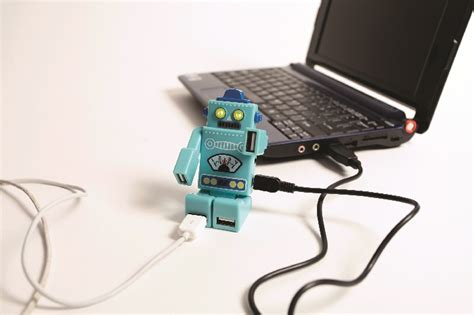 gift search robot usb hub