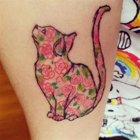 Meow The Best Cat Tattoos Ever Tattoos Beautiful Meow Best Cat Tattoos