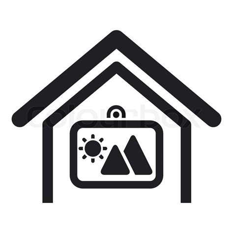 home decor icon vector illustration of single home decor icon stock