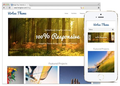 theme virtue blog 30 beautiful responsive wordpress e commerce themes