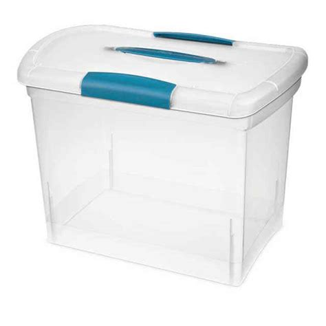 sterilite showoffs storage container sterilite large nesting showoffs storage containers set of 6
