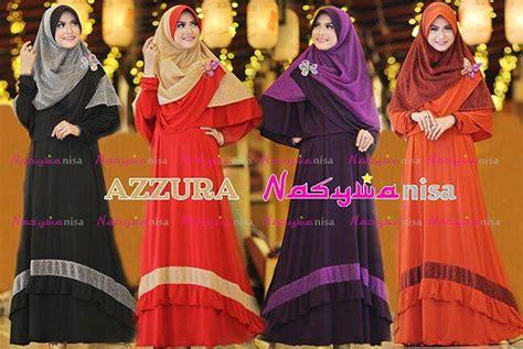 Jilbab Syar I Azzura azzura syari by nasywanisa dress gamis jersey starlight