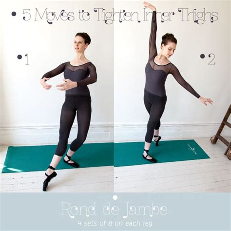 Helen Inner Set inner thigh workout 5 ballet based to tone and