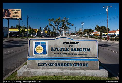 Garden Grove Saigon Picture Photo Saigon Sign Garden Grove Orange