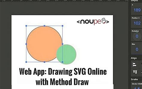 drawing web app web app drawing svg with method draw noupe