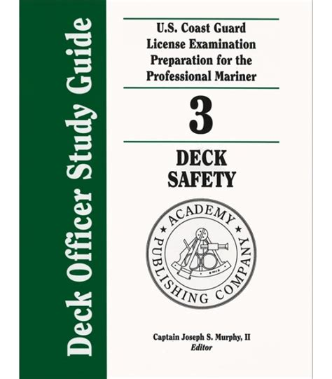 safety professional s reference and study guide second edition books deck officer study guide 3 deck safety 2011 2012 edition