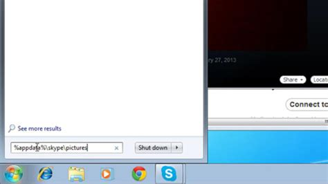 How To Find To Skype How To Find And View Skype Snapshot Gallery Howtech