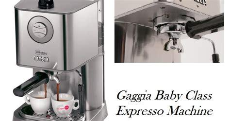 Mesin Kopi Gaggia alat penyeduh kopi gaggia baby class kopi nikmat
