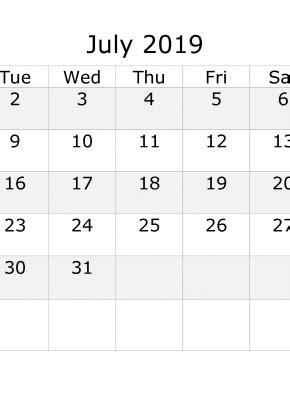 july  calendar  week numbers printable start  monday  printable  monthly