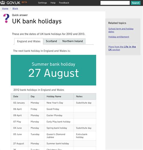 bank holidays uk bank story is it really simpler clearer faster