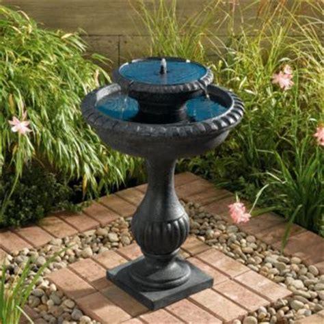 Solar Fountains Solar Garden Decor Garden Solar Decorations
