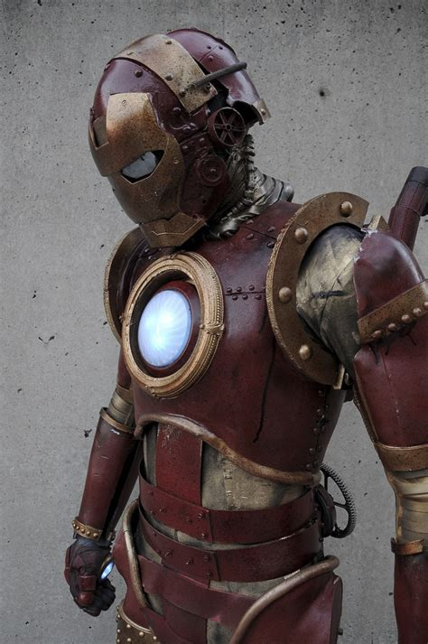 real steampunk iron man suit magnificent bit rebels