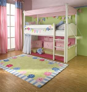 girls cabin bed with canopy curtains and cushions the baby cot shop