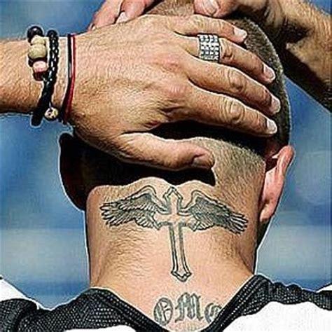 Beckham Tattoo On Neck | tatouage david beckham les tatouages de beckham tattoos