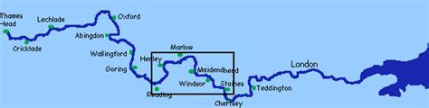 river thames at windsor map river thames at maidenhead