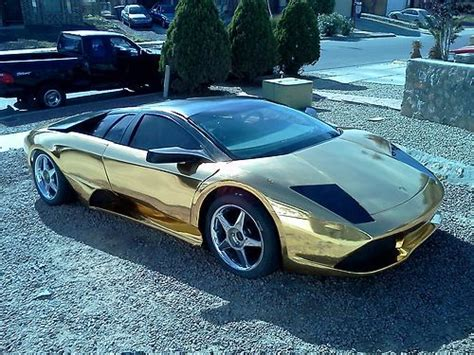 Buy Replica Lamborghini Buy Used Lamborghini Murcielago Lp640 Replica Holy Gold