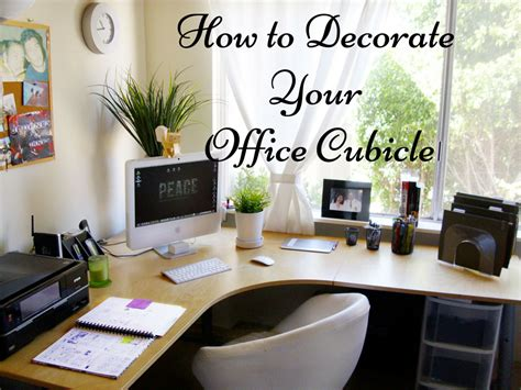 Ideas To Decorate An Office How To Decorate Your Office Cubicle To Stand Out In The Crowd Pertaining To 5 Ideas For