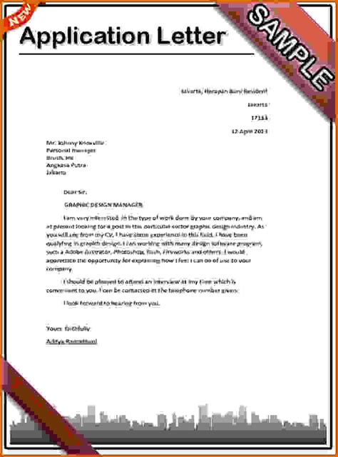 An Letter Lease Template