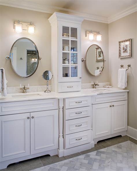 master bathroom double sink vanity master bathroom renovation with tower and double vanity