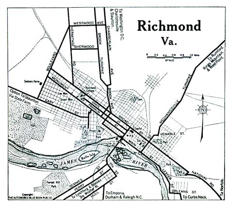 richmond va map richmond virginia