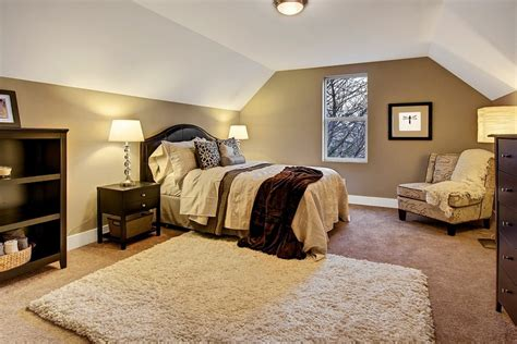 Vaulted Ceilings In This Master Bedroom For The Home