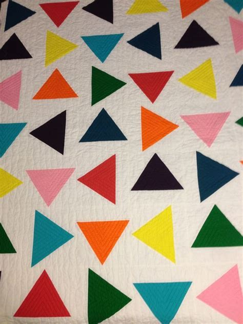 pattern would rather modern triangle quilt i d rather be quilting