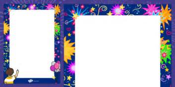 new year border twinkl new year decorative page border 2015 new year border